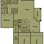 E - TWO BEDROOM  TWO BATH  1256