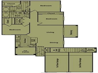 Three Bedroom Rental