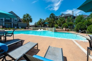 Three Bedroom Apartments for Rent in Conroe, TX -Pool & Patio Area (3)