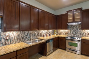 Two Bedroom Apartments for Rent in Conroe, TX - Clubhouse  Kitchen