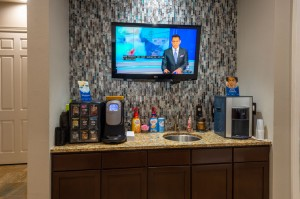 Two Bedroom Apartments for Rent in Conroe, TX - Coffe Bar & TV