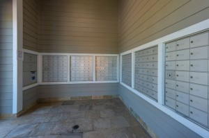 Two Bedroom Apartments for Rent in Conroe, TX - Covered Mailbox Area