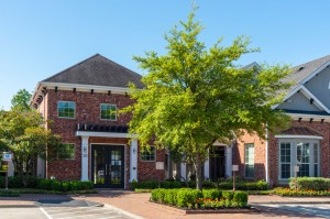 One Bedroom Apartments for Rent in Conroe, TX - Leasing Office & Clubhouse Exterior