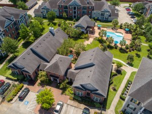 Three Bedroom Apartments for Rent in Conroe, TX - Aerial View of Community