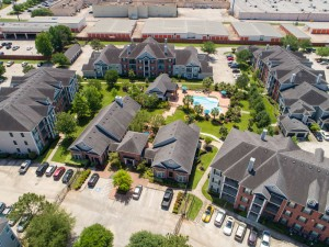 Three Bedroom Apartments for Rent in Conroe, TX - Aerial View of Community & Surrounding Area (2)