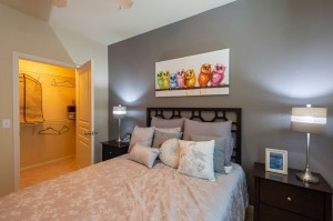 Three Bedroom Apartments for Rent in Conroe, TX - Model Bedroom