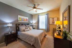 Three Bedroom Apartments for Rent in Conroe, TX - Model Bedroom (2)