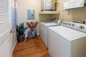 Three Bedroom Apartments for Rent in Conroe, TX - Model Laundry Room
