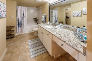 Two Bedroom Apartments for Rent in Conroe, TX - Model Bathroom