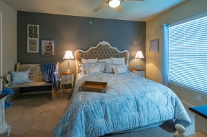 Two Bedroom Apartments for Rent in Conroe, TX - Model Bedroom
