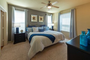 Two Bedroom Apartments for Rent in Conroe, TX - Model Bedroom (4)