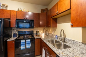 Two Bedroom Apartments for Rent in Conroe, TX - Model Kitchen (2)